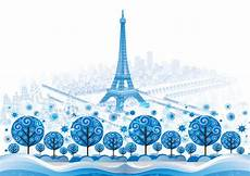 Paris Designs Blue Paris Vector Background Design