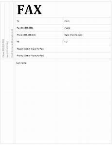 Fax Facesheet Free Fax Cover Sheet
