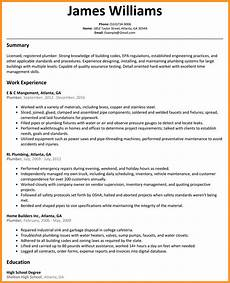 Plumbing Resume Samples 10 11 Journeyman Plumber Resume Southbeachcafesf Com