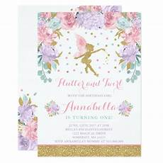 Fairy Party Invite Fairy Birthday Invitation Whimsical Magical Party Zazzle Com