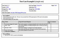 Software Test Case Template Test Case Template 22 Free Word Excel Pdf Documents