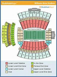 South Carolina Gamecock Football Stadium Seating Chart South Carolina Football Williams Brice Stadium Espn