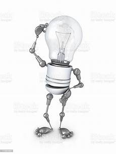 Light Robot Light Bulb Robot Stock Photo Download Image Now Istock