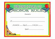 Honor Roll Certificate Templates 40 Honor Roll Certificate Templates Amp Awards Printable