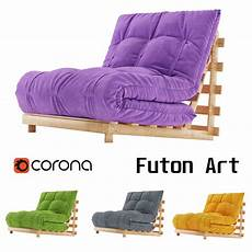 Footon Sofa 3d Image by 3d Model Sofa Futon Cgtrader