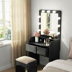 tribesigns 1 drawer dressing table set vanity makeup desk