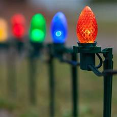 Diy Stakes For Christmas Lights Christmas Lights C7 Multicolor Christmas Led Pathway Lights
