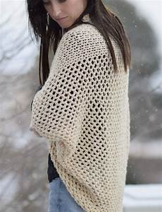 mod mesh honey blanket sweater in a stitch
