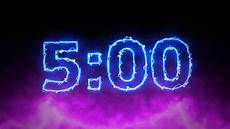 5 Minute Timer Electric 5 Minute Countdown Youtube