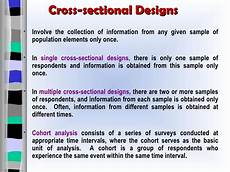 Cross Sectional Study Design Examples Research Design
