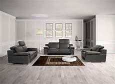 Italian Sofa Sets For Living Room 3d Image by Made In Italy Leather Panther Black Sofa Set San