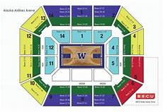 Alaska Airlines Arena Seating Chart Seattle Storm Powered By Spinzo