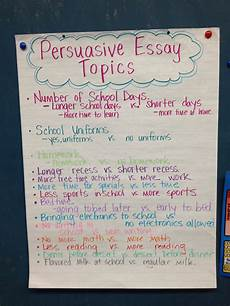 How To Essay Example For Kids Persuasive Essay Topics Persuasive Essay Topics