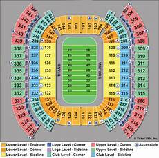 Titans Interactive Seating Chart Nissan Stadium Tickets Nissan Stadium Seating Chart