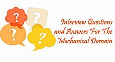 2nd Interview Tips Part 2 Interview Questions And Answers For The Mechanical