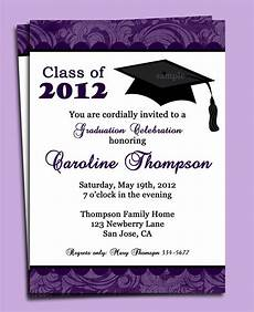 Invite To A Party Wording Sample Of Invitation For Graduation Party