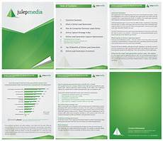 Microsoft Word Layout Templates New Ms Word Template Design For A White Paper Julep Media