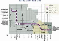 Light Rail Map Phoenix Tempe Light Rail Phoenix Map Schedule