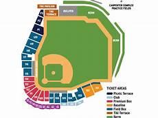 Spectrum Field Seating Chart Spectrum Field Phillies Com Spring Training