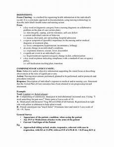 Chart Method Of Documentation F Dar Focus Charting