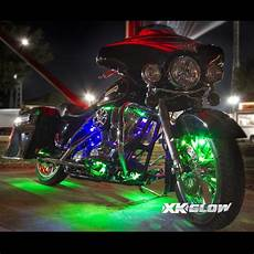 Motorcycle Led Light Kit Premium 10 10 Pod Ios Android App Wifi Control Led