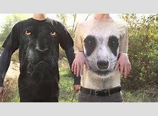 3D Tshirts Big face   YouTube