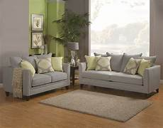 beautiful mineral gray chenille fabric sofa