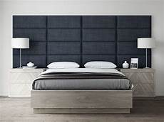 find a unique wall panel and hang it as a headboard like