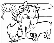 free macdonald farm coloring pages thebooks