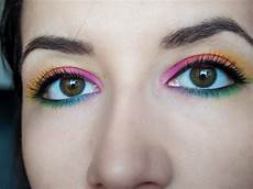 Eye Makeup Designs How To Apply Rainbow Eyeshadow 9 Steps With Pictures