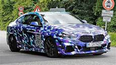 bmw new 2 series 2020 2020 bmw 2 series gran coupe with thinner camouflage