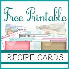 recipe cards with template sweetly scrapped free printable recipe cards