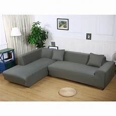 L Shaped Sectional Sofa Covers 3d Image by Aliexpress Buy Enipate L Shape Stretch Elastic