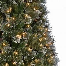 Martha Stewart Living Christmas Tree Lights Martha Stewart Living 9 Ft Pre Lit Led Sparkling Pine