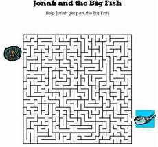 Kids Bible Worksheets Free Printable Jonah And The Big