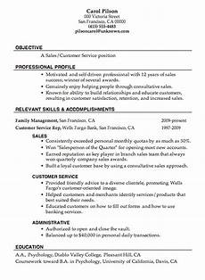 Objective For A Customer Service Resume Resume Sample Sales Customer Service Job Objective