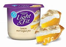 Dannon Light And Fit Greek Lemon Meringue Lemon Meringue Pie Nonfat Yogurt Light Amp Fit 174