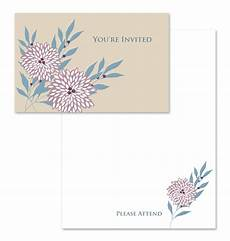 You Re Invited Templates You Re Invited Note Card Template
