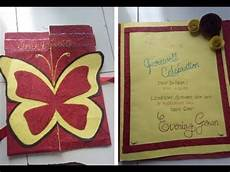 Invitation Card For Farewell Party To Seniors Diy Farewell Party Invitation Card Beautiful Hand Made