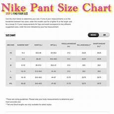 Mens Nike Size Chart Nike Other Size Chart Poshmark