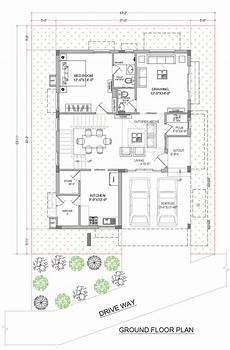 Floor Plan Of A Villa Myans Villas Type A East Facing Villas