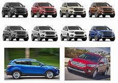 2020 Ford Escape Color Chart 2020 Ford Escape New Colors Release Date Redesign Price