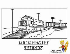 Train Stencil Printable Ironhorse Army Train Coloring Pages Yescoloring Free