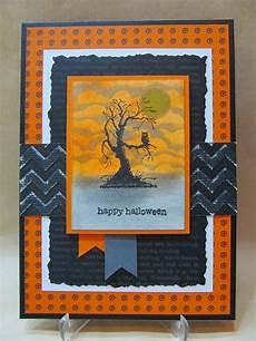Spooky Halloween Cards Savvy Handmade Cards Spooky Sky Halloween Card