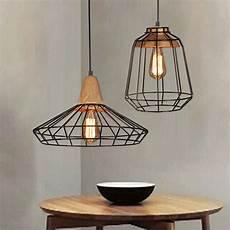 Metal Lights Vintage Industrial Diy Metal Ceiling Lamp Light Pendant