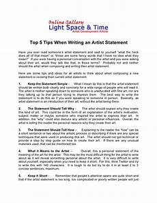 Artist Essay Examples How To Write The Perfect Artist Statement