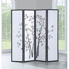 shop costway 4 panel room divider folding privacy shoji