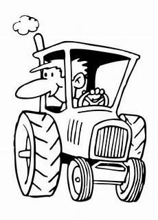 ausmalbilder zum ausdrucken gratis malvorlagen traktor 1