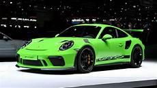 2019 Porsche 911 Gt3 Rs by 2019 Porsche 911 Gt3 Rs Makes Debut In Geneva The