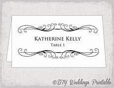 place card template on word printable place card template tent name card templates